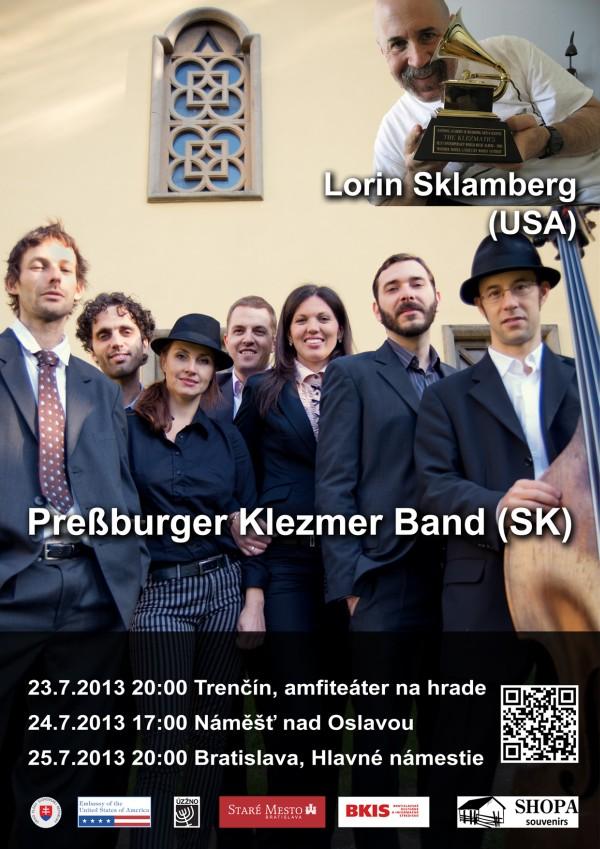 Plagát k mini turné s Lorinom Sklambergom