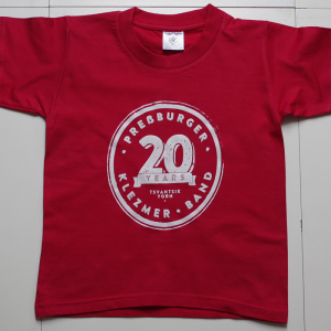 t-shirt yorn kids red