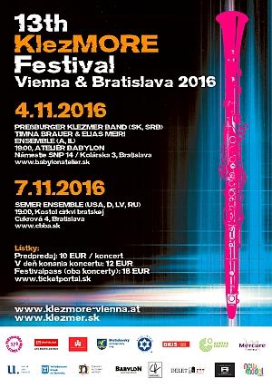 KlezMORE Vienna & Bratislava 2016