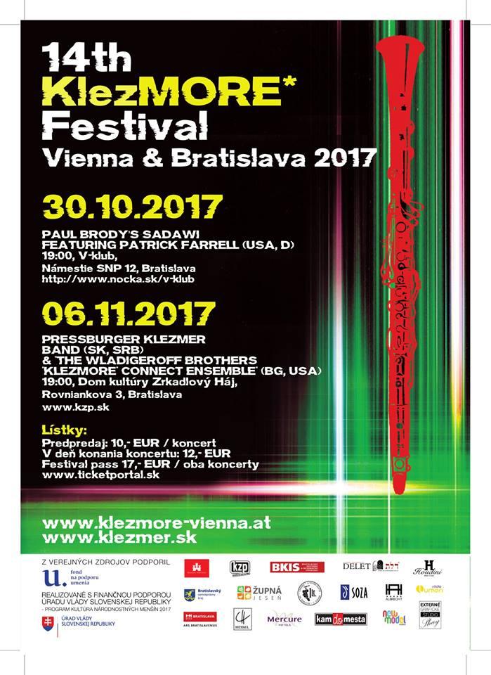 Bratislava, DK Zrkadlový Háj - Festival KlezMORE 2017